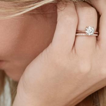 Stacked Wedding Rings: Stack 'Em High