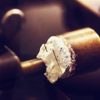 Diamond Symmetry and Polish