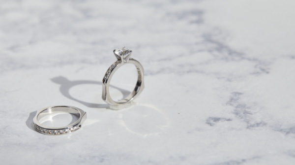 Platinum jewelry is perfect to commemorate 20 years together.