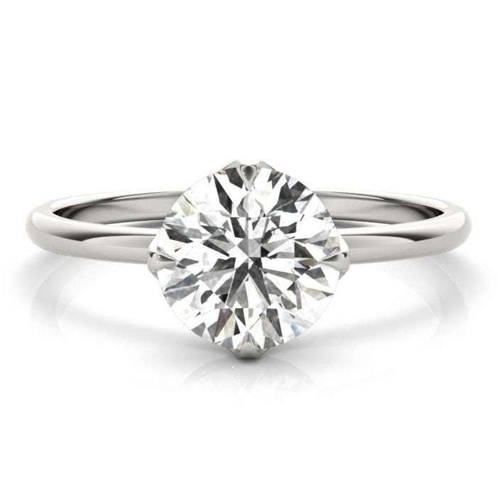 The Cora Solitaire Ring