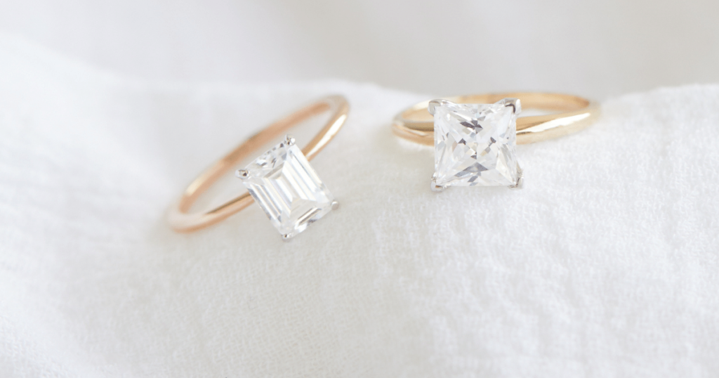 Beautiful Lab-Grown Diamond Rings