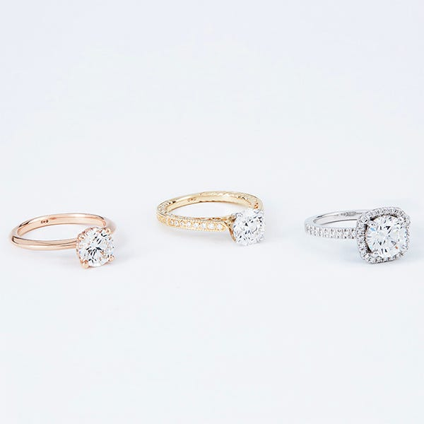 various engagement rings