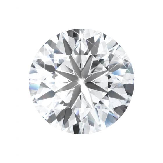 round shaped diamond