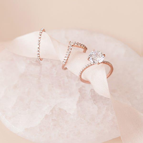Susie Saltzman custom rings