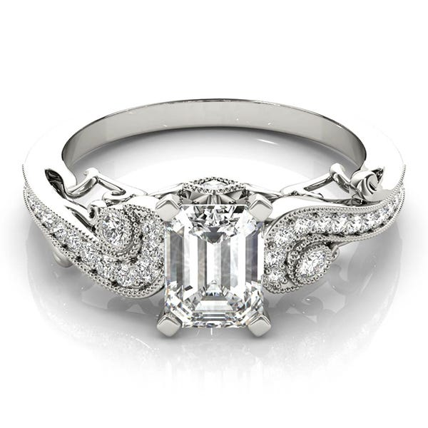 Learn About Vintage Style Engagement Rings Clean Origin