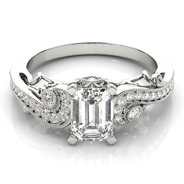 Vintage Style Engagement Rings Clean Origin