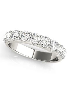 Sempre 9 Stone Diamond Ring
