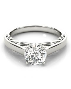 Antique Solitaire Ring
