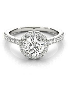 Grand Classic Halo Ring