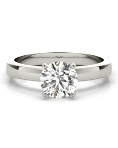 Perfect Fit Solitaire Ring