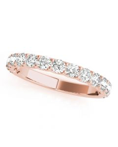 Essentials 3/8ct Anniversary Band 14kt Rose Gold
