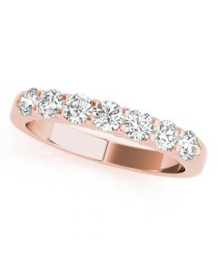 Essentials 1ct Anniversary Band 14kt Rose Gold