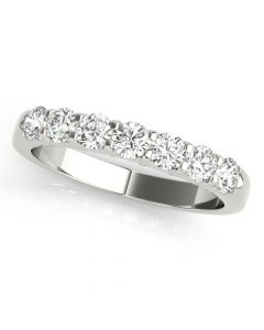 Essentials 1ct Anniversary Band Platinum