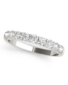 1/2 CT. TW. Coupé 9 Stone Diamond Ring