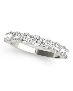 1 CT. TW. Coupé 9 Stone Diamond Ring