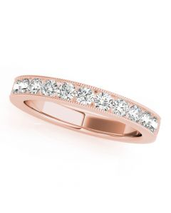 Essentials 3/4ct Anniversary Band 14kt Rose Gold