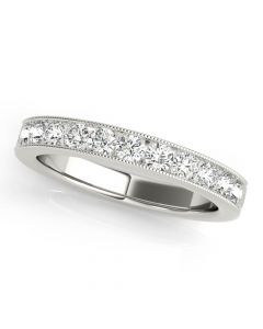 Essentials 3/4ct Anniversary Band Platinum