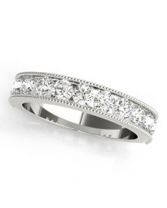 1/4 CT. TW. Flora Diamond Ring