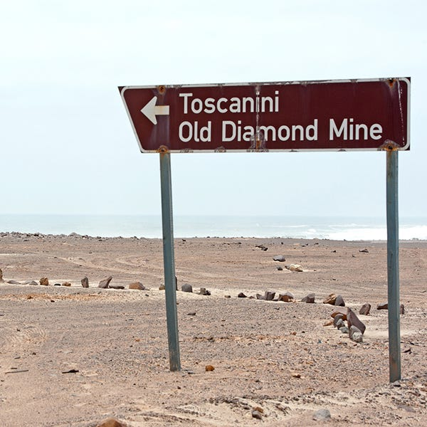old diamond mine