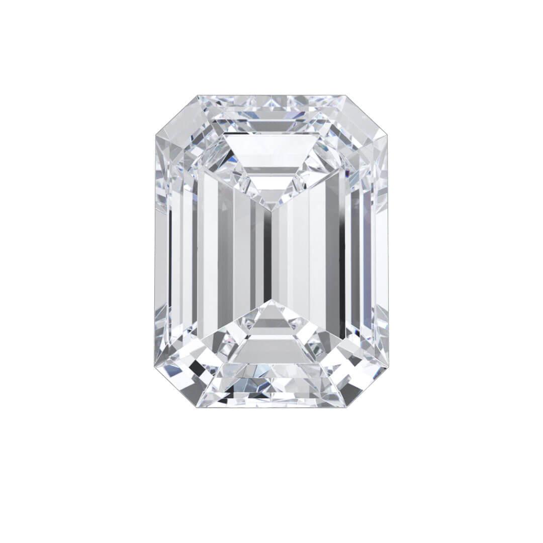 Emerald Lab Created Diamond