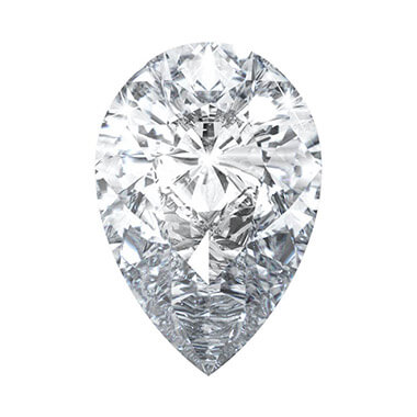 Pear Lab Created Diamond