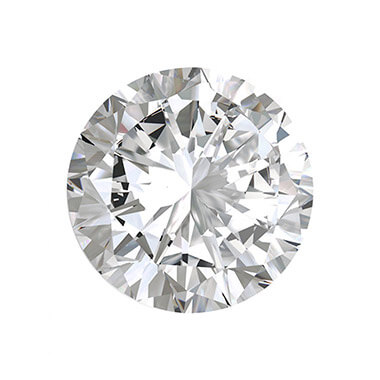 Round Lab Created Diamond